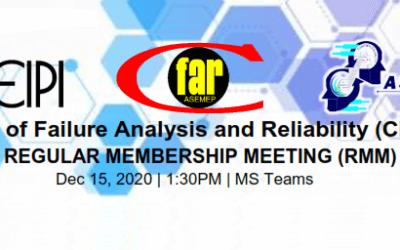 ALVTechnologies at the CFAR Q4 Regular Membership Meeting