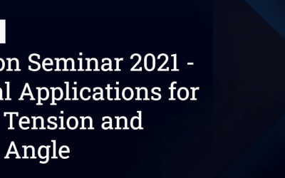 Attension Seminar 2021 – Practical Applications for Surface Tension and Contact Angle